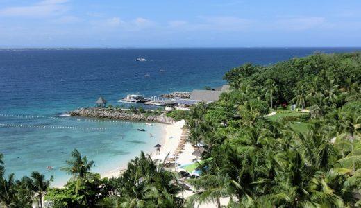 セブ・マクタン島のシャングリ・ラはプライベートビーチが素晴らしい!